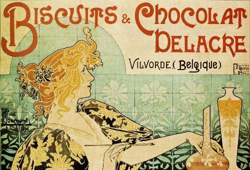 Vintage Art Nouveau Poster Images on CD