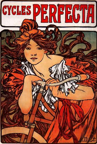Cycles Perfecta by Alphonse Mucha