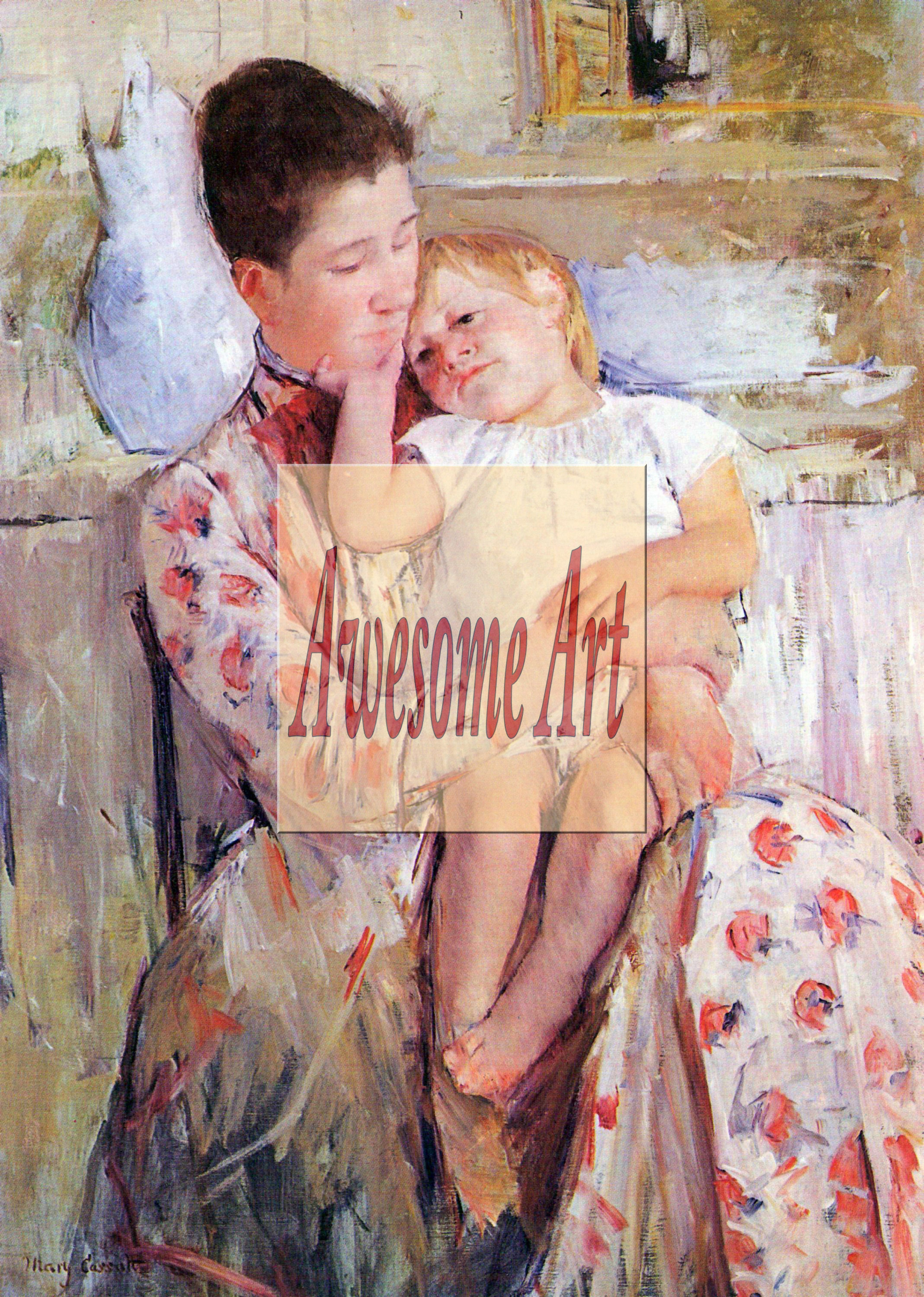 Cassatt - Mother and Child