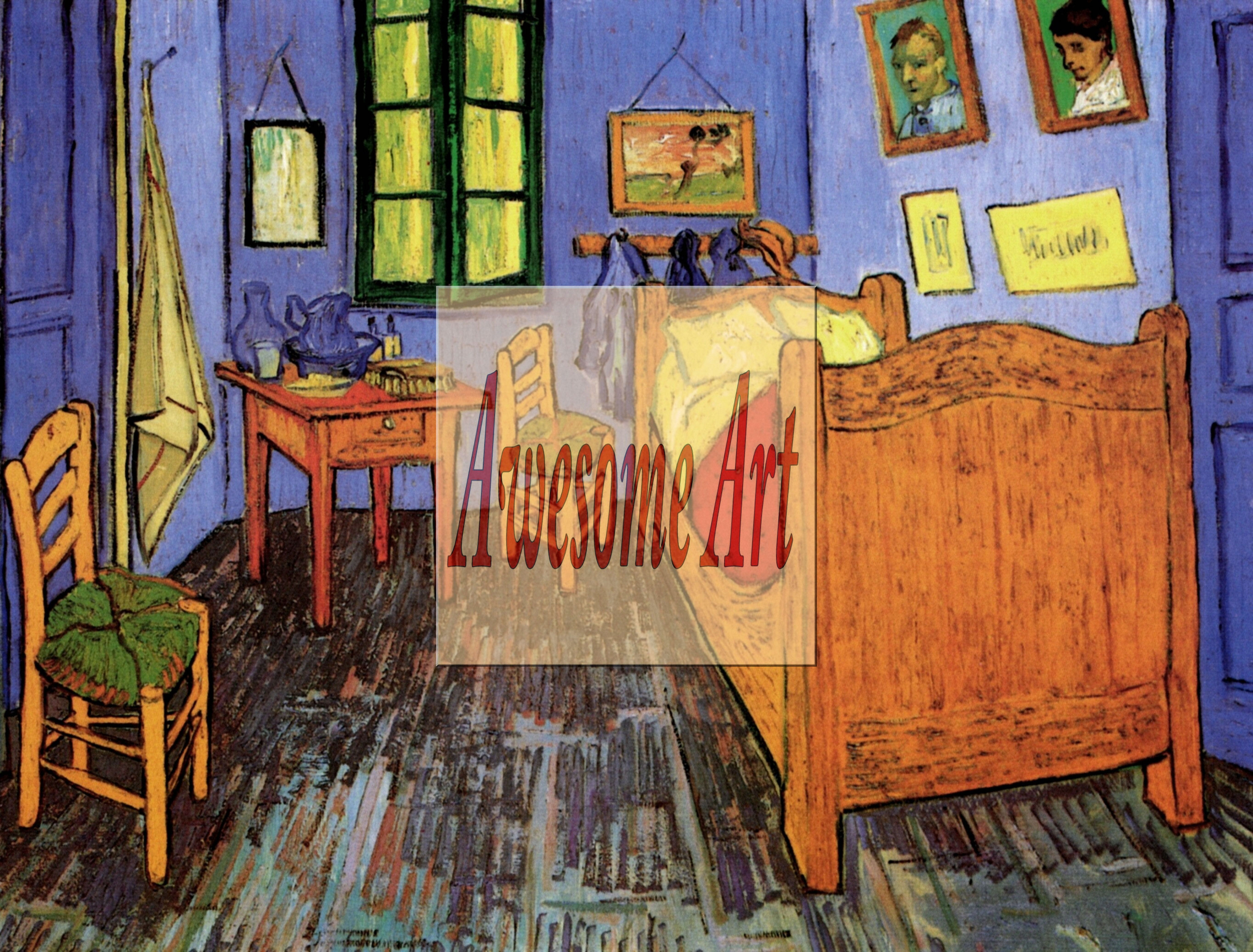 van gogh vincents bedroom in arles