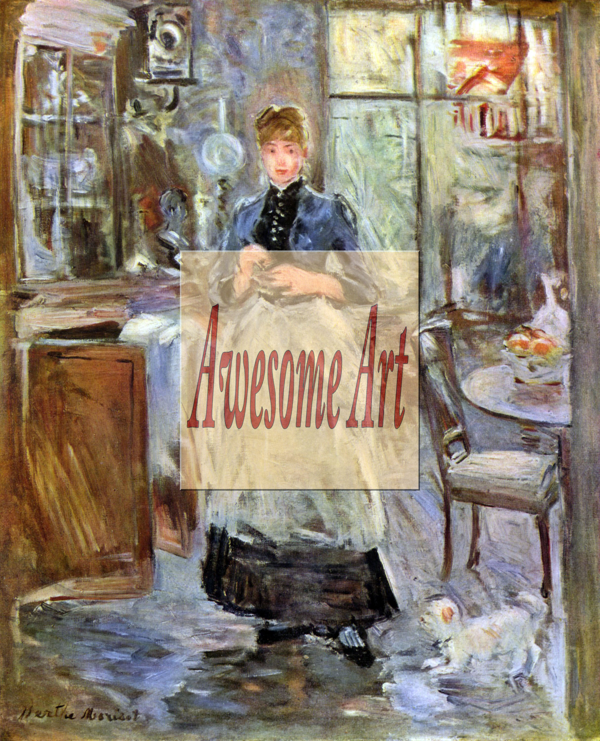 Berthe Morisot In The Dining Room Morisot In Dining Room