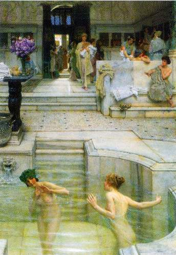 Alma-Tadema - A favorite tradition