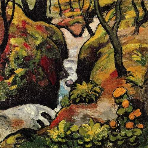 August Macke - Forest Brook
