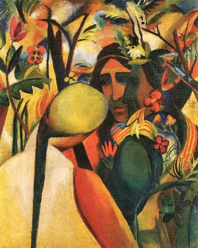 August Macke - Indians