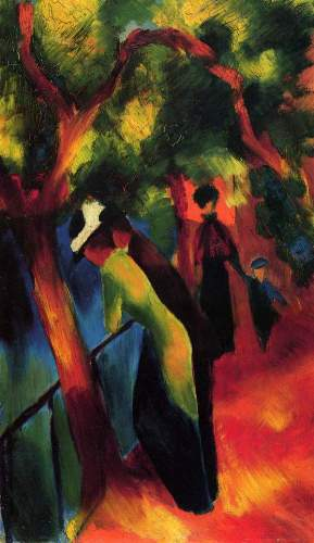 August Macke - Sunny way