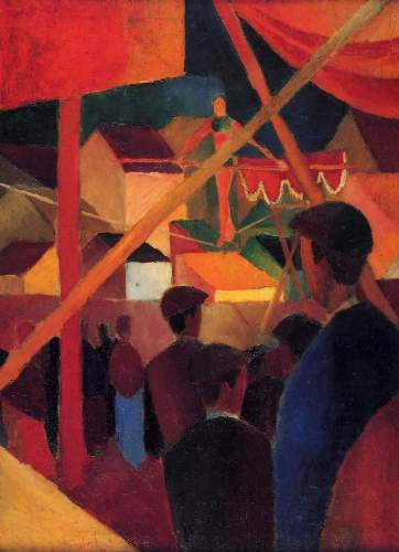 August Macke - Tightrope