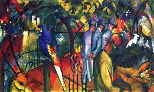 August Macke - Zoological gardens