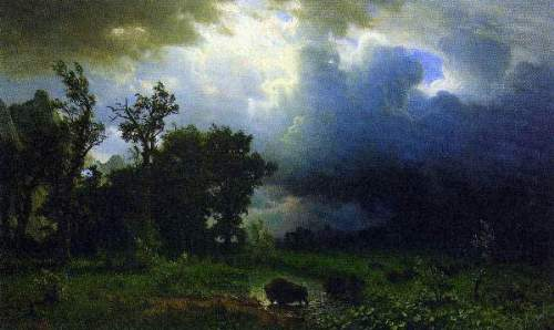 Bierstadt - Before the Storm