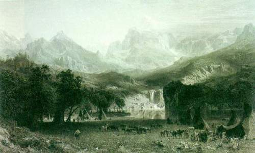 Bierstadt - Rockies at Lander's Peak