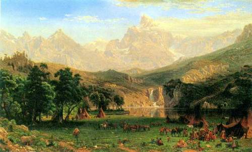 Bierstadt - Rocky Montains at Lander's Peak