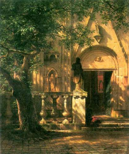 Bierstadt - Sunlight and Shadow 2