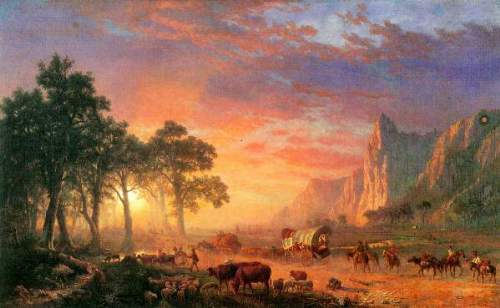 Bierstadt - The Oregon Trail