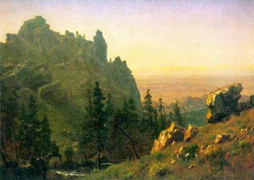 Bierstadt - Wind River Country