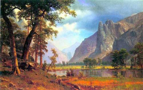 Bierstadt - Yosemite Valley 2