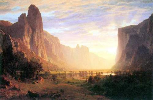 Bierstadt - Yosemite Valley 3