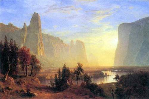 Bierstadt - Yosemite Valley