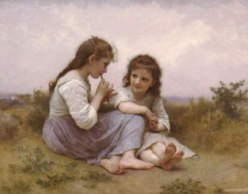 Bouguereau - A Childhood Idyll 1900