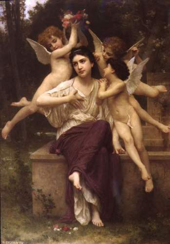 Bouguereau - Ave de printemps