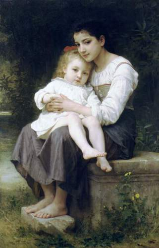 Bouguereau - Big Sis