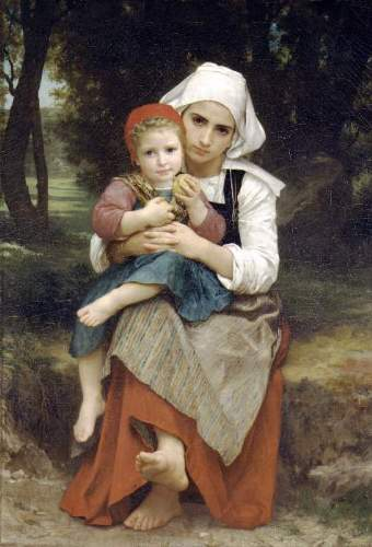 Bouguereau - Breton Brother and Sister