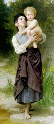 Bouguereau - Brother And Sister