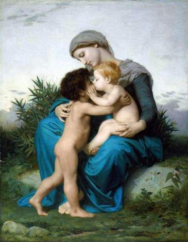 Bouguereau - Fraternal Love