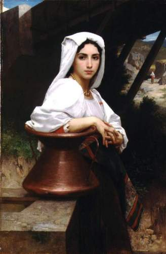 Bouguereau - Italian Girl Drawing Water