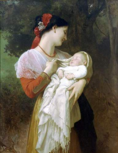 Bouguereau - Maternal Admiration