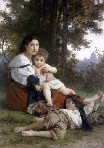 Bouguereau - Rest
