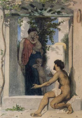 Bouguereau - Roman Charity Unknown