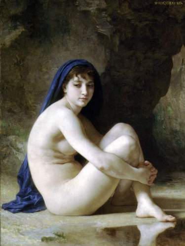 Bouguereau - Seated Nude