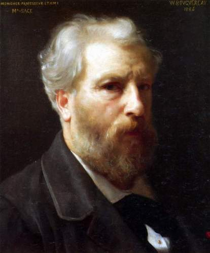Bouguereau - Self-Portrait Presented To M Sage