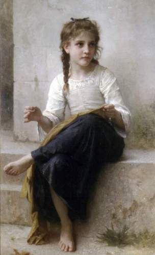 Bouguereau - Sewing