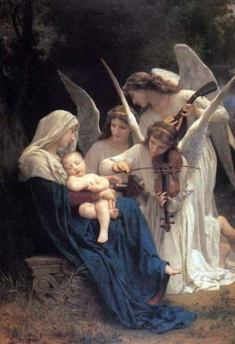 Bouguereau - Song of the Angels