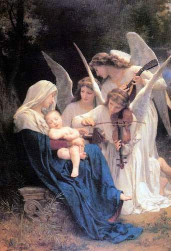 Bouguereau - Song of the Angels_lg