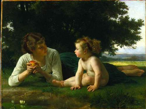 Bouguereau - Temptation