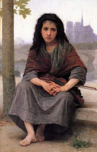 Bouguereau - The Bohemian