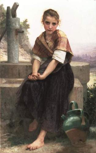 Bouguereau - The Broken Pitcher