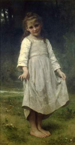 Bouguereau - The Curtsey
