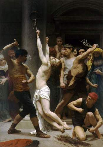 Bouguereau - The Flagellation of Our Lord Jesus Christ