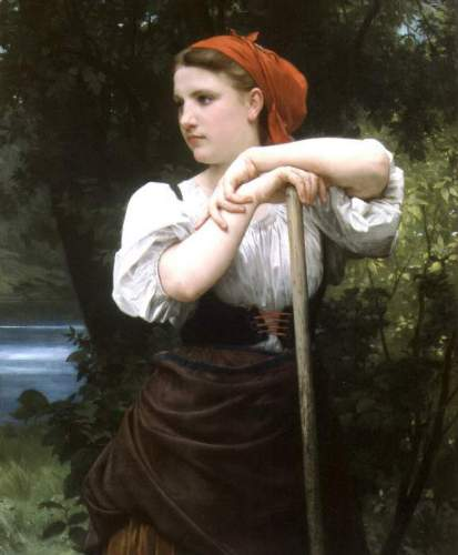Bouguereau - The Haymaker