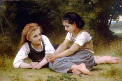 Bouguereau - The Nut Gatherers