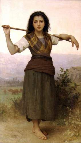 Bouguereau - The Shepherdess