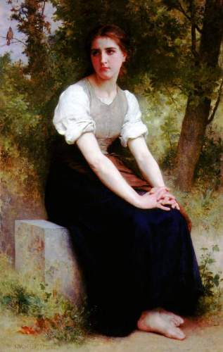 Bouguereau - The Song of the Nightingale