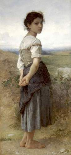 Bouguereau - The Young Shepherdess
