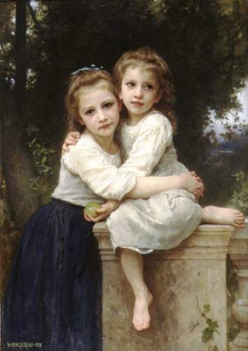 Bouguereau - Two Sisters_lg