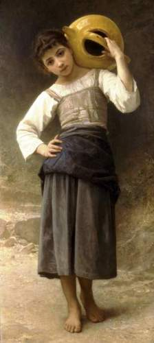Bouguereau - Young Girl Going to the Spring