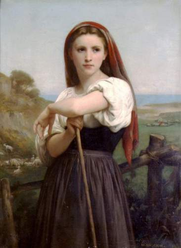 Bouguereau - Young Shepherdess