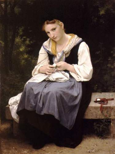 Bouguereau - Young Worker