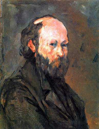 Cezanne - Another Self Portrait